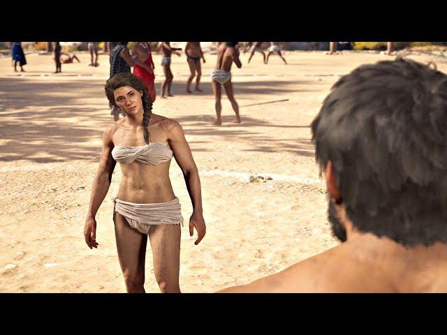 Assassin S Creed Odyssey Kassandra Pankration Olympics All