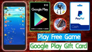 Google Play Gift Card || Free Paypal Cash || Fish For Cat App || Tricks Hoster