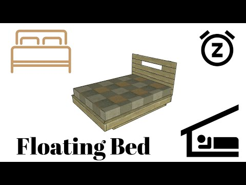 floating-bed-frame-plans