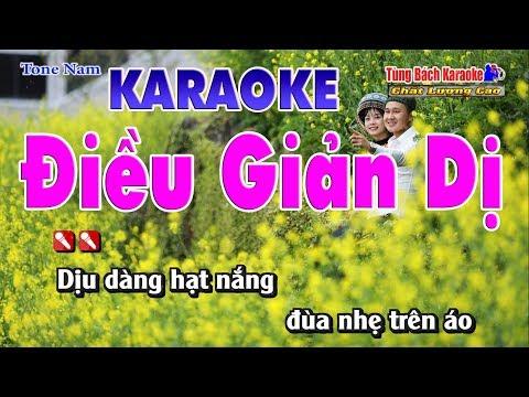 Điều Giản Dị Karaoke 123 HD - Nhạc Sống Tùng Bách