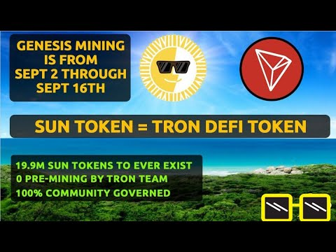 SUN TOKEN Genesis Mining – Price Prediction!