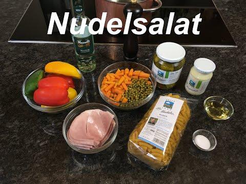 Nudelsalat schnell und einfach gemacht