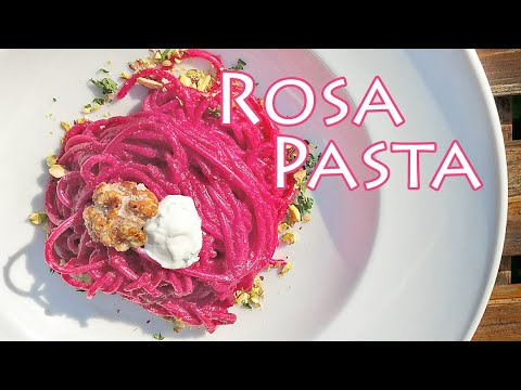 rote bete rezept f r rosa pasta mit roter bete the krauts youtube. Black Bedroom Furniture Sets. Home Design Ideas