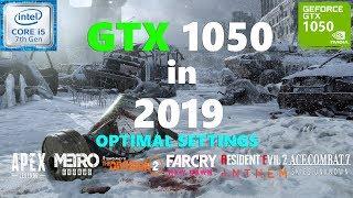 GTX 1050 Test in 10 Games in 2019