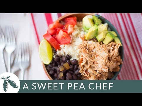 slow-cooker-chicken-burrito-bowls-(with-cauliflower-rice!)- -a-sweet-pea-chef