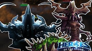 Heroes of the Storm (HotS) | MALTHAEL APPROACHES | Zagara Gameplay ft. Sinvicta