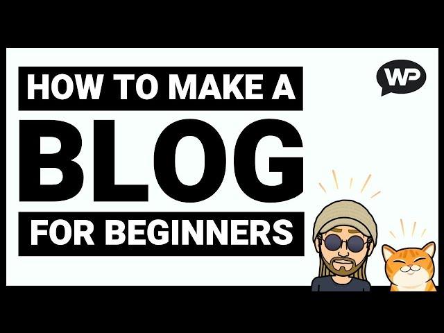 How to Make a WordPress Blog (2020) - WordPress Blog Tutorial!