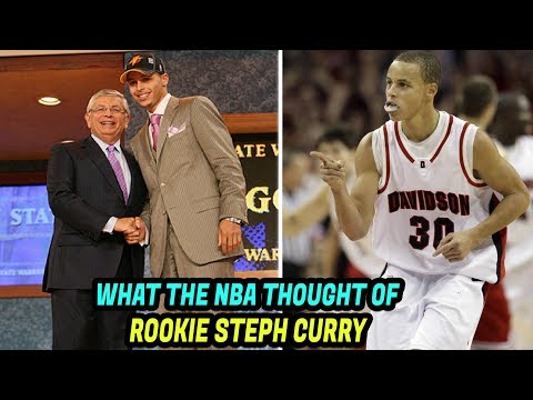 How the NBA Reacted to Steph Curry Before the NBA Draft