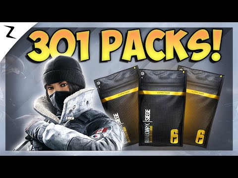 opening-301-alpha-packs!-(rare-legendaries)---rainbow-six-siege