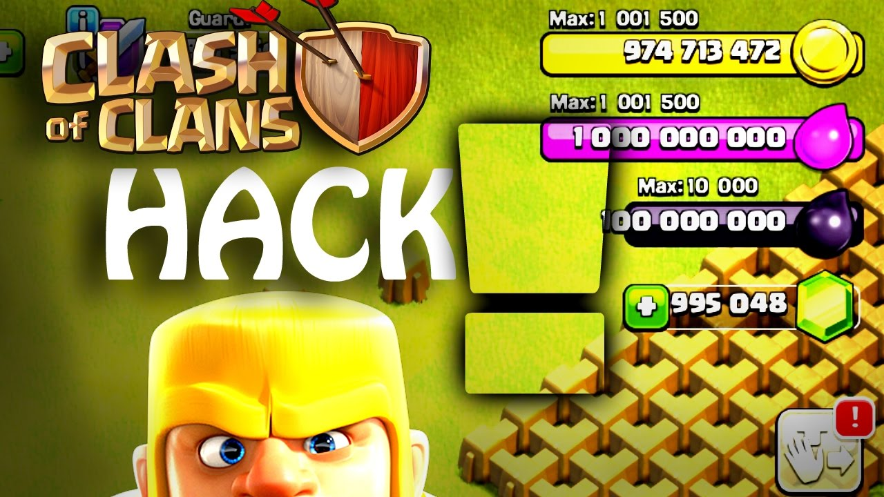 clash of clans hack free unlimited gems gold