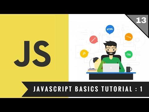 13 - Javascript Basics Tutorial   Hindi   Full Stack Web Development 2018