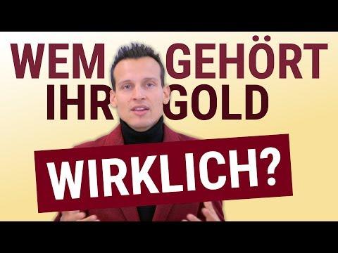Wem gehört IHR Gold und Silber wirklich?