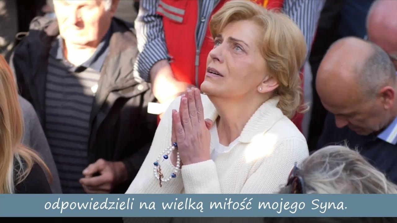 MEDJUGORIE - objawienie Matki Bożej Mirjanie - 2 maja 2019 - Przesłanie KRÓLOWEJ POKOJU