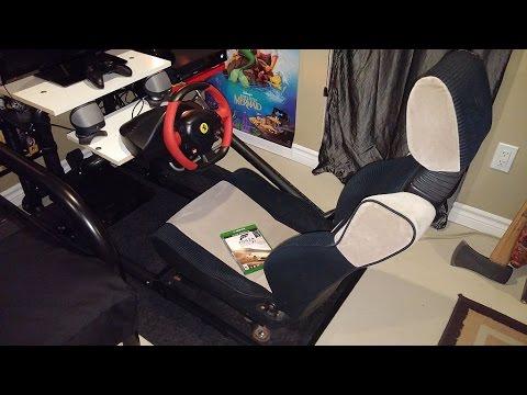 Diy Xbox One Steering Wheel Rig Setup Youtube