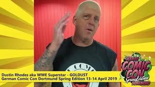 Dustin Rhodes aka GOLDUST @ German Comic Con Dortmund Spring Edition 2019