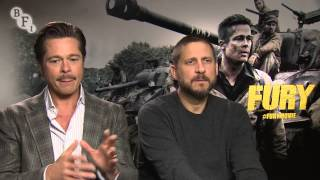 Brad Pitt And David Ayer On The Making Of Fury | BFI #LFF