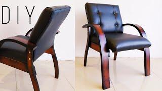 СТУЛ из гнутоклееной ФАНЕРЫ DIY plywood chair МЕБЕЛЬ своими РУКАМИ