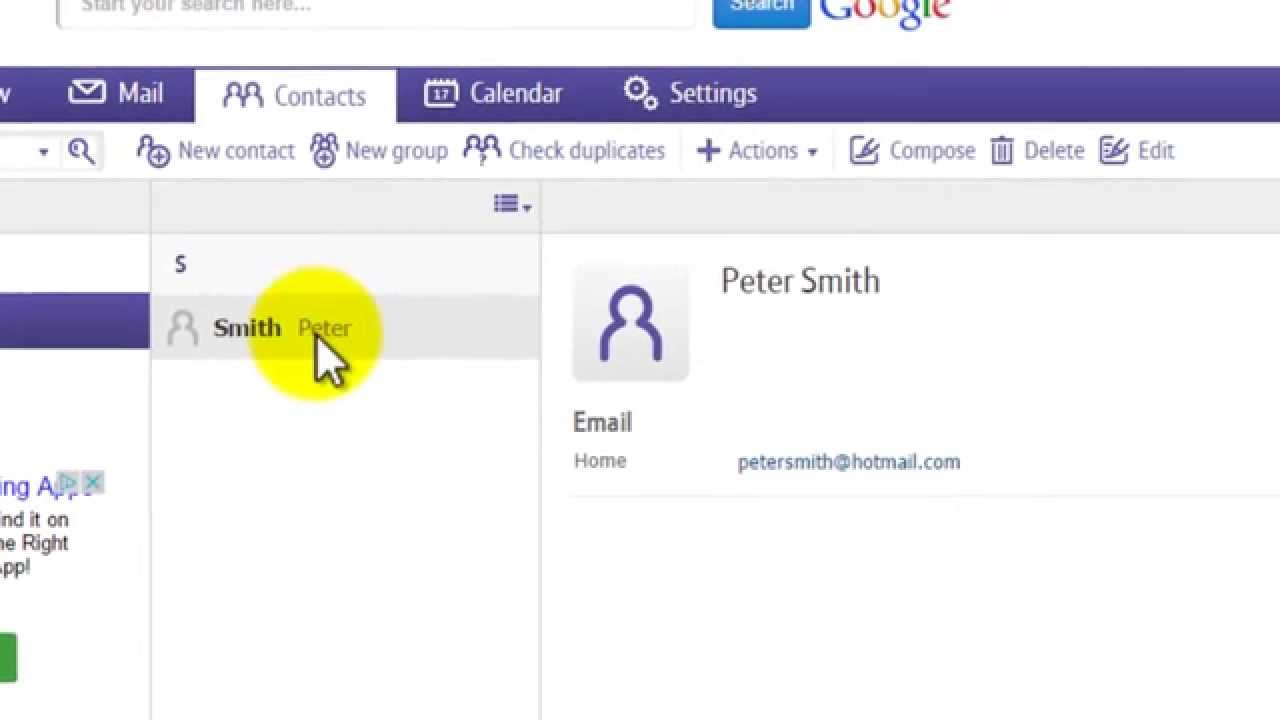 How To Manage Contacts On Bt Mail Youtube