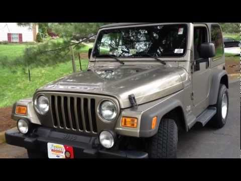2005 Jeep Wrangler Manual Review, Walk Around, Start Up & Rev, Test Drive