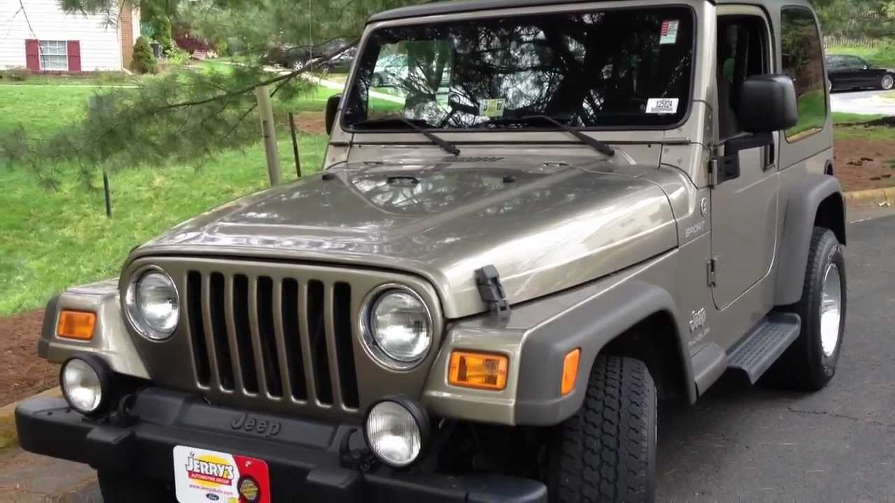 2005 Jeep Wrangler Manual Review Walk Around Start Up Rev Test Rh Youtube  Com 2000 Jeep