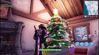 Huge *CHRISTMAS DECORATED TREE* Found In Fortnite Season 7!!