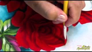 Baixar Pintando em 5 Minutos com Márcia Spassapan | Rosas Fluorescentes | Pintura Em Tecido