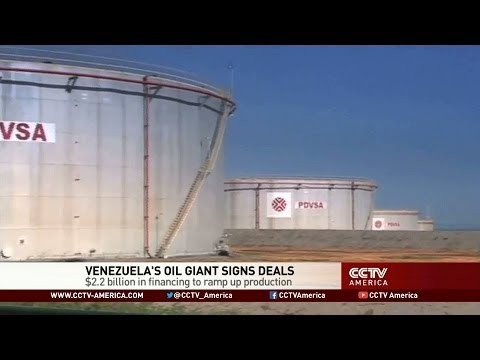 Venezuela's Oil Giant Signs Deals in Bid to Boost Production