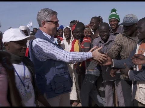 Chad: UN High Commissioner for Refugees visits Baga Sola