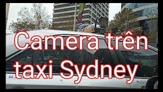 Taxi Sydney gắn camera hai bên cửa để bảo vệ tài xế