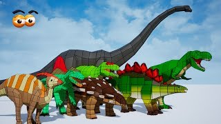 CUBE BUILDER for KIDS (HD) - Learn & Build Various Dinosaurs for Children 2 - AApV
