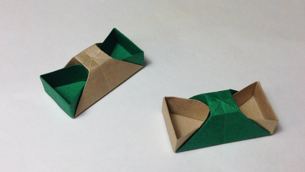 How To Make A Paper Chopstick Rest Origami Chopstick Rest Youtube