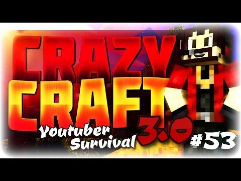 "Minecraft Crazycraft 3.0 Youtuber Survival #53 ""Superman Suit!!!"" (SuperHeros Mod)"