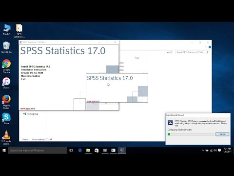 How To Install SPSS Statistics V.17 Full Installation Guide With Crack