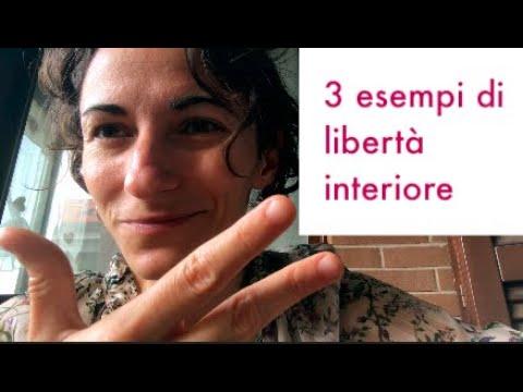 3 esempi di libertà interiore