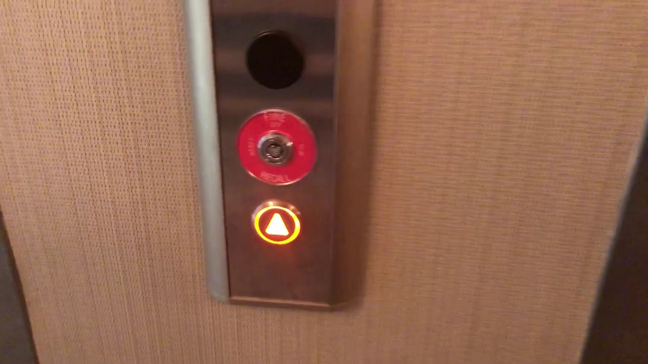 Kone Traction elevators @ Hampton inn Near Des Moines IA - YouTube