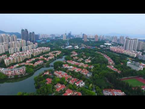 Phantom 4 Flight over OCT Portofino Shenzhen, July 2016 in 4k