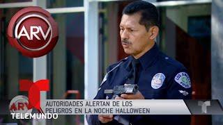 Alertan cuidado con los niños en noche de Halloween | Al Rojo Vivo | Telemundo
