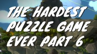 The hardest puzzle game the witness 6