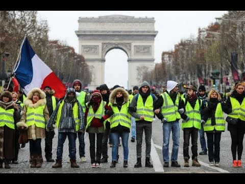 LATEST I LIVE from France I 15th week of Yellow Vest protests continue in Paris I HD I