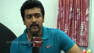 Suriya Talks about Kajal agarwal   Suriya Interview   Maattrraan Tamil Movie