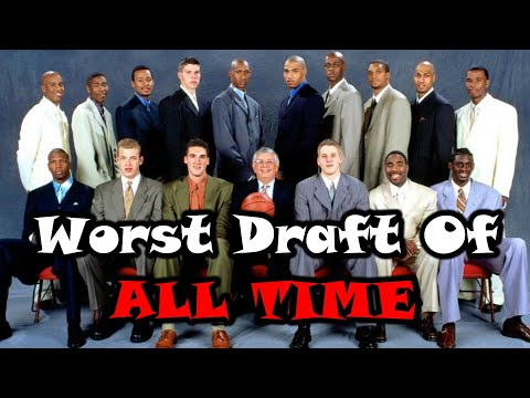Meet The 2000 NBA Draft Class: The WORST Draft In NBA History!