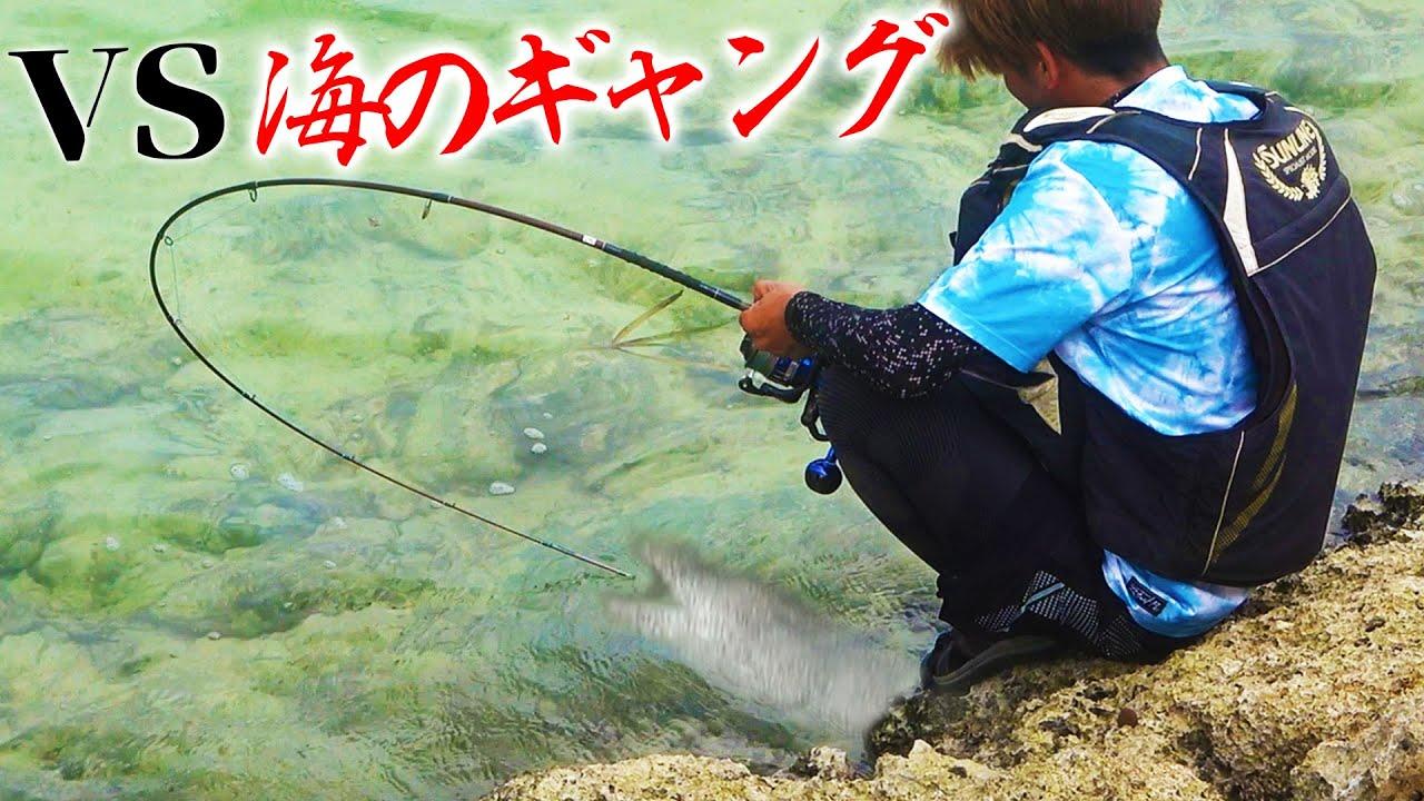 岩礁に潜む凶暴な3匹のウツボを引きずり出せ!【宮古vs石垣釣り対決#2】