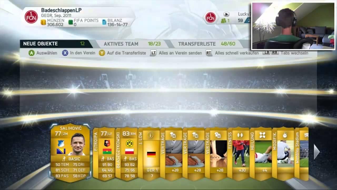 Fifa 14 Pack Opening 07 Na Sieh Mal Einer An Facecam