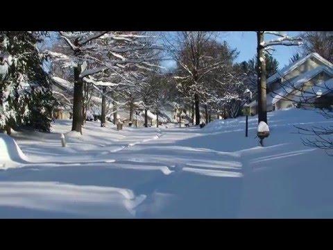 Historic snowstorm (blizzard) 2016 near Washington DC Part 2