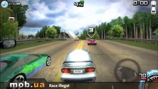 Обзор игры Незаконные Гонки (Race Illegal High Speed 3D) на Андроид - mob.ua