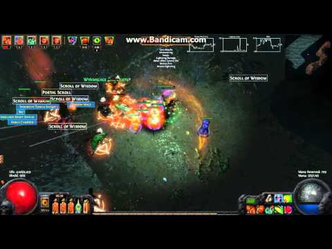 Path of Exile 2.2 Null's Inclination Build (Witch Necromancer)