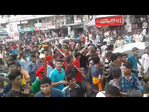 Adivasi divas video  2017| vadodara rally 9th August | world indigenous day | Royal Rathwa timli
