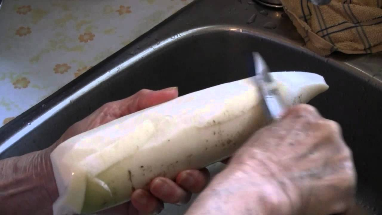 how to prepare turnips for stew