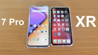 Apple Iphone Xr Vs Oneplus 7 Pro Apple Infinitube
