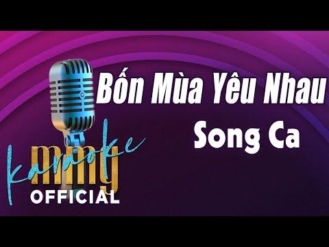 Bốn Mùa Yêu Nhau Karaoke Song Ca | Hát với MMG Band